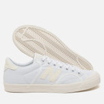 Мужские кроссовки New Balance ProcCourt Canvas White/Beige фото- 2