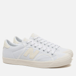 Мужские кроссовки New Balance ProcCourt Canvas White/Beige фото- 1