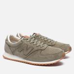 Мужские кроссовки New Balance U420NOT Nubuck Olive фото- 2