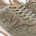 Мужские кроссовки New Balance U420NOT Nubuck Olive фото- 5