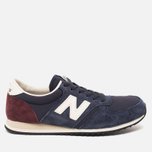 Кроссовки New Balance U420RNB Navy/Burgundy фото- 0