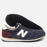 Кроссовки New Balance U420RNB Navy/Burgundy фото- 2