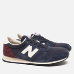 Кроссовки New Balance U420RNB Navy/Burgundy фото- 1