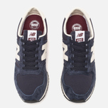 Кроссовки New Balance U420RNB Navy/Burgundy фото- 4
