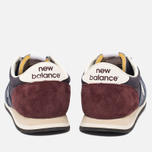 Кроссовки New Balance U420RNB Navy/Burgundy фото- 3