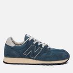 Мужские кроссовки New Balance U520AB Suede Mallard Blue/Teal фото- 0