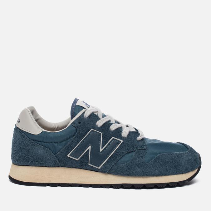 Мужские кроссовки New Balance U520AB Suede Mallard Blue/Teal