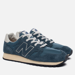 Мужские кроссовки New Balance U520AB Suede Mallard Blue/Teal фото- 1