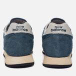 Мужские кроссовки New Balance U520AB Suede Mallard Blue/Teal фото- 3
