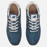 Мужские кроссовки New Balance U520AB Suede Mallard Blue/Teal фото- 4
