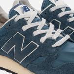 Мужские кроссовки New Balance U520AB Suede Mallard Blue/Teal фото- 5