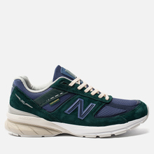 Мужские кроссовки New Balance x Aime Leon Dore 990v5 Green/Violet/White фото- 3