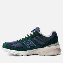 Мужские кроссовки New Balance x Aime Leon Dore 990v5 Green/Violet/White фото- 5