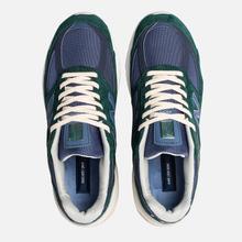 Мужские кроссовки New Balance x Aime Leon Dore 990v5 Green/Violet/White фото- 1