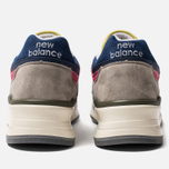 Мужские кроссовки New Balance x Aime Leon Dore C-M997ALL Grey/Canary Yellow фото- 4