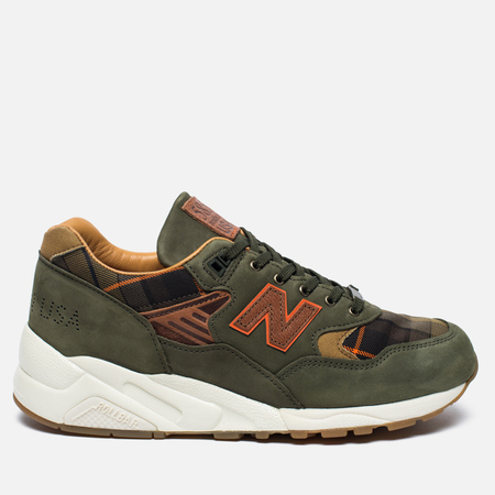 Мужские кроссовки New Balance x Ball & Buck M585BB Sporting Gentleman Olive