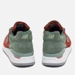 Мужские кроссовки New Balance x Concepts M998BMG Boston Red/Green фото- 3