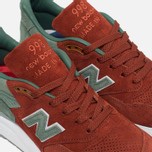 Мужские кроссовки New Balance x Concepts M998BMG Boston Red/Green фото- 5
