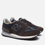 Мужские кроссовки New Balance x Norse Projects M770NP Lucem Hafnia Pack Brown/Navy фото- 2