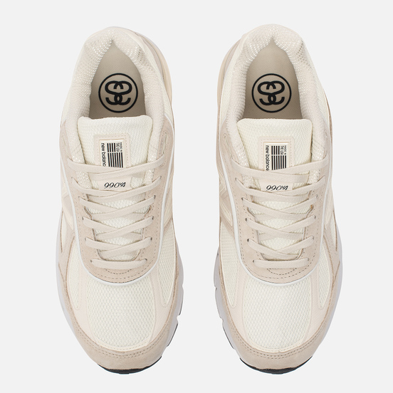 Мужские кроссовки New Balance x Stussy M990SC4 Cream