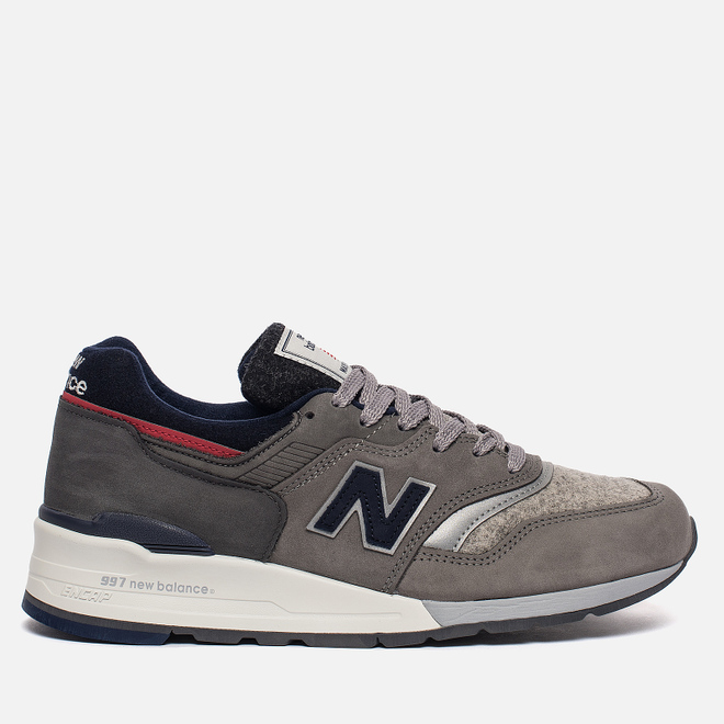 Мужские кроссовки New Balance x Woolrich M997WL Grey/Navy