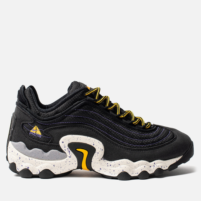 Мужские кроссовки Nike ACG Air Skarn Black/University Gold/Psychic Purple