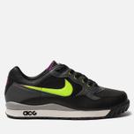Мужские кроссовки Nike ACG Air Wildwood Black/Electric Green/Hyper Violet фото- 0