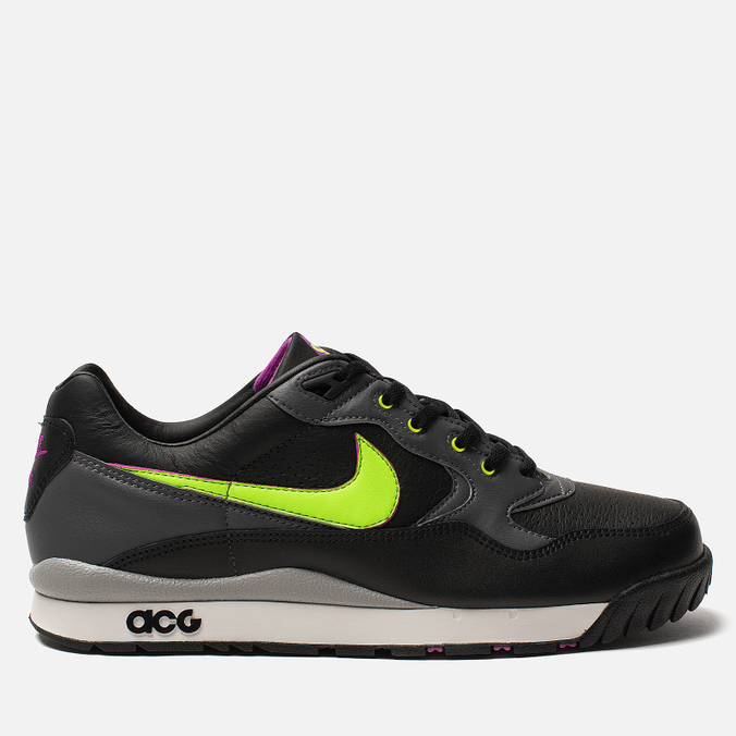 Мужские кроссовки Nike ACG Air Wildwood Black/Electric Green/Hyper Violet