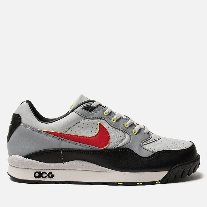 7b1b549a Мужские кроссовки Nike ACG Air Wildwood Pure Platinum/Comet Red/Mist Blue/ Black ...