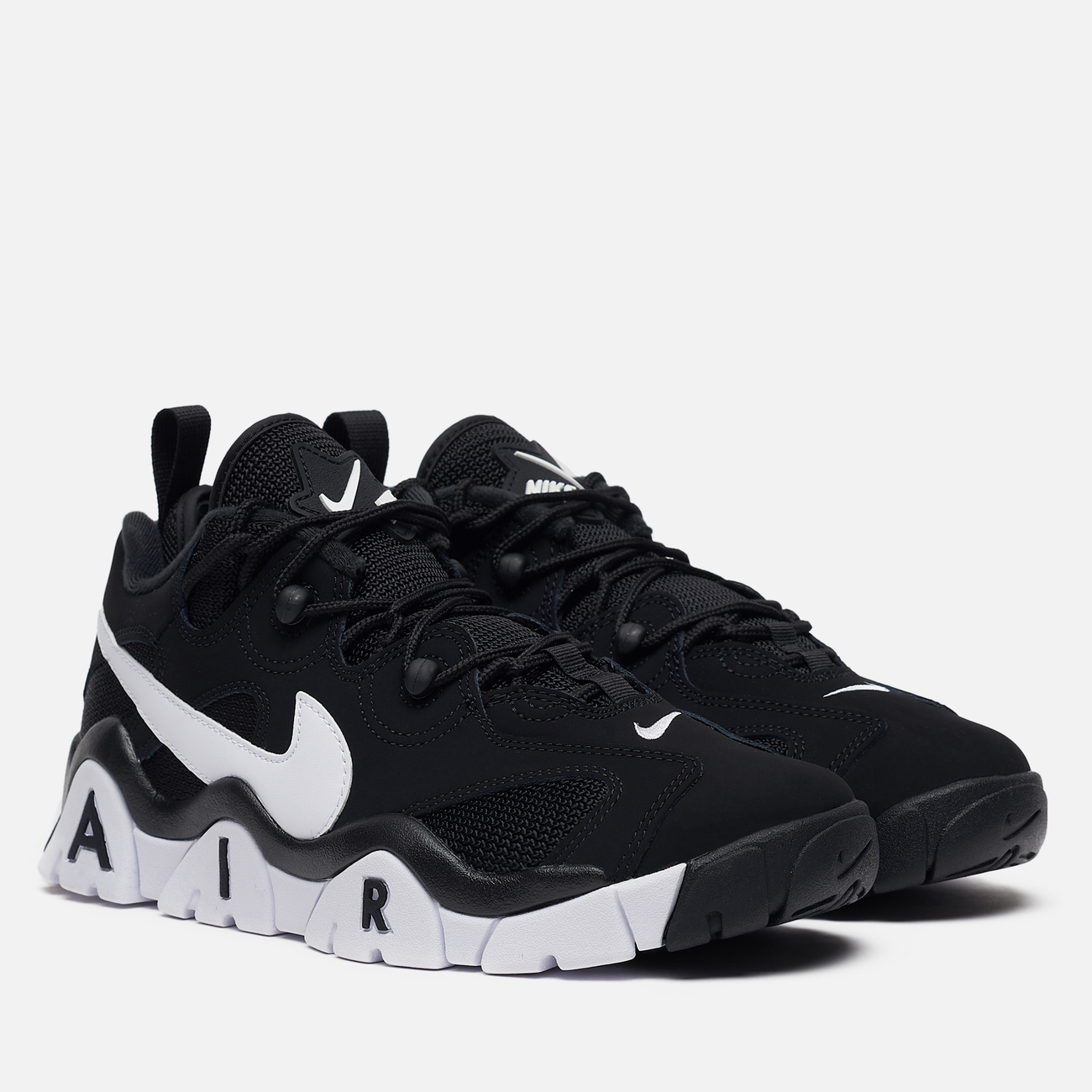 Мужские кроссовки Nike Air Barrage Low Black/White/White