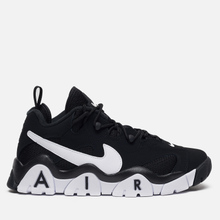 Мужские кроссовки Nike Air Barrage Low Black/White/White фото- 3