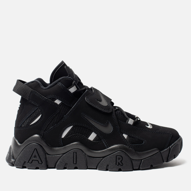 Мужские кроссовки Nike Air Barrage Mid Black/Black/Black