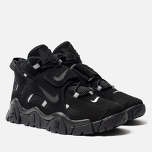 Мужские кроссовки Nike Air Barrage Mid Black/Black/Black фото- 2