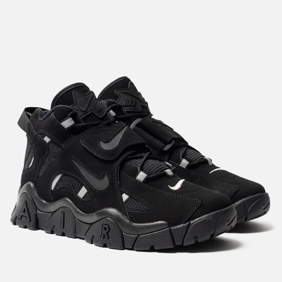Мужские кроссовки Nike Air Barrage Mid Black/Black/Black