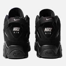 Мужские кроссовки Nike Air Barrage Mid Black/Black/Black фото- 3