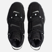 Мужские кроссовки Nike Air Barrage Mid Black/Black/Black фото- 1