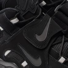 Мужские кроссовки Nike Air Barrage Mid Black/Black/Black фото- 6