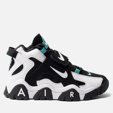 Мужские кроссовки Nike Air Barrage Mid Black/White/Cabana