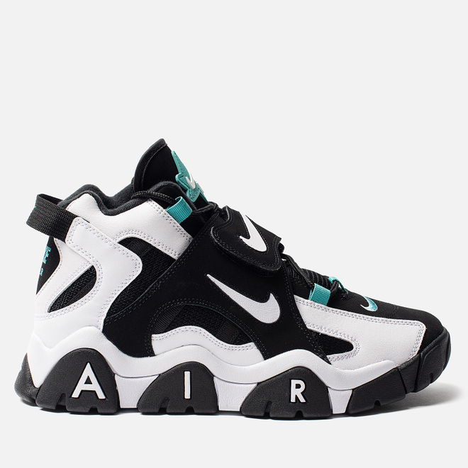 Мужские кроссовки Nike Air Barrage Mid Black/White/Cabana