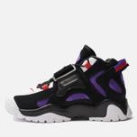 Мужские кроссовки Nike Air Barrage Mid QS Black/White/Hyper Grape/University Red фото- 1