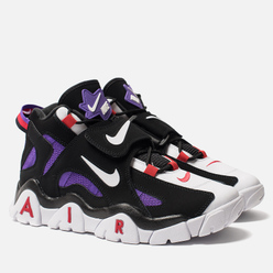 Мужские кроссовки Nike Air Barrage Mid QS Black/White/Hyper Grape/University Red