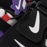 Мужские кроссовки Nike Air Barrage Mid QS Black/White/Hyper Grape/University Red фото- 6