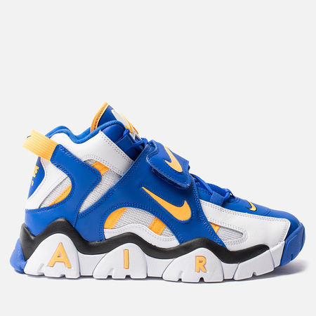 Мужские кроссовки Nike Air Barrage Mid White/Laser Orange/Racer Blue/Black
