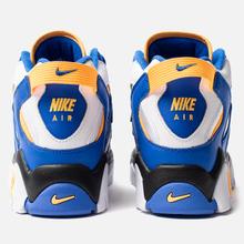 Мужские кроссовки Nike Air Barrage Mid White/Laser Orange/Racer Blue/Black фото- 2