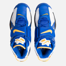 Мужские кроссовки Nike Air Barrage Mid White/Laser Orange/Racer Blue/Black фото- 1
