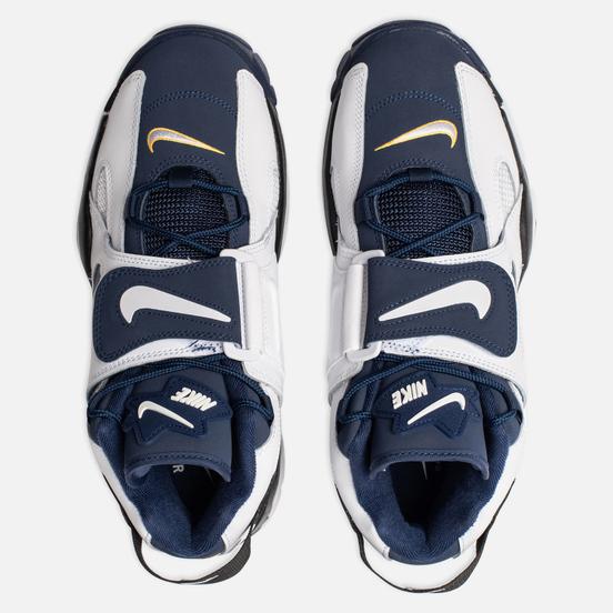 Мужские кроссовки Nike Air Barrage Mid White/Midnight Navy/Black/Laser Orange