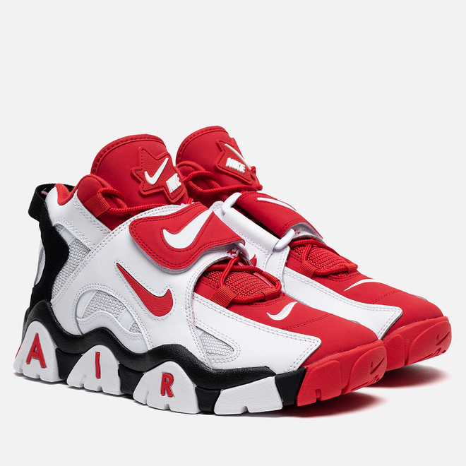 Мужские кроссовки Nike Air Barrage Mid White/University Red/Black
