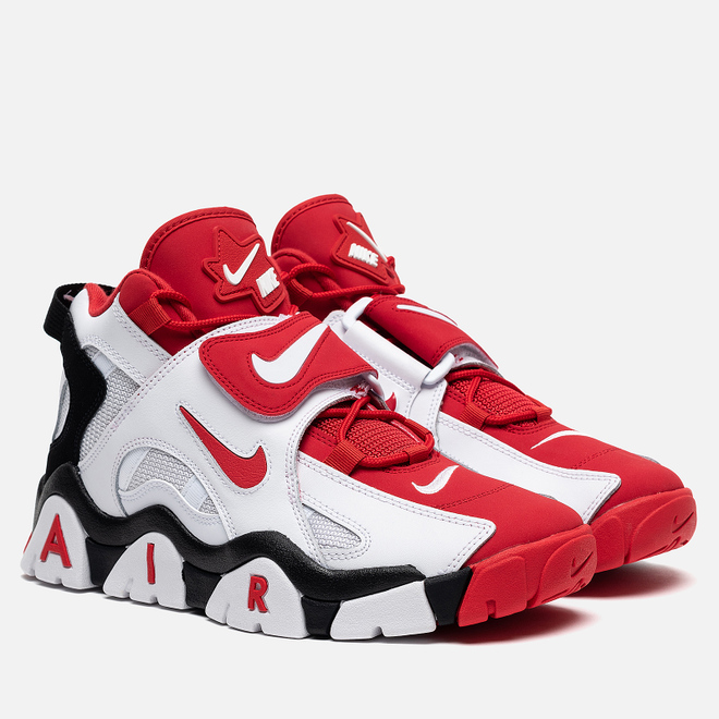 Мужские кроссовки Nike Air Barrage Mid White/University Red/Black