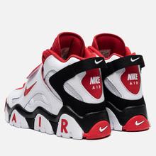 Мужские кроссовки Nike Air Barrage Mid White/University Red/Black фото- 2