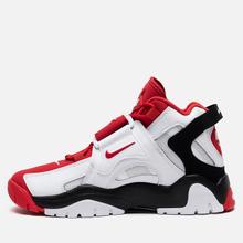 Мужские кроссовки Nike Air Barrage Mid White/University Red/Black фото- 5
